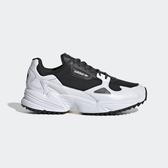 Adidas Falcon Trail W [EF9024] 女鞋 運動 休閒 厚底 復古 潮流 老爹 愛迪達 黑白