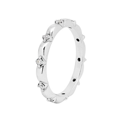 Pandora 潘朵拉 片片花瓣 925純銀戒指 198791C01