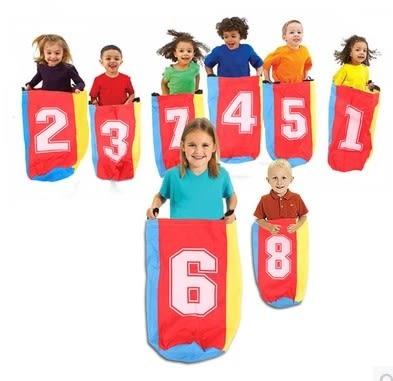 [協貿國際]  兒童袋鼠跳跳袋幼兒園感統拓展訓練器材 (1入)