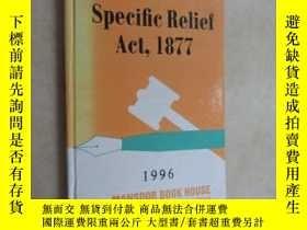 二手書博民逛書店英文書罕見specific relief act ,1877 1