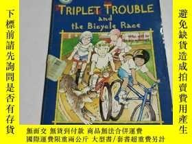 二手書博民逛書店TPIPLET罕見TROUBLE and the Bicycle