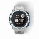 【綠蔭-免運】GARMIN INSTINCT Solar 本我系列太陽能GPS腕錶運動衝浪版-浪花白 (010-02293-62)