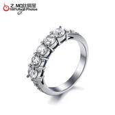 [Z-MO鈦鋼屋]精緻排鑽優美戒指/結婚紀念禮物/甜美名媛/質感加分單件價【BKS7645】