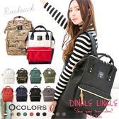 DingleLingle丁果時尚包款ღ日本原宿學院風復古簡約休閒 後背包 旅行包原單10色