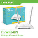 TP-LINK TL-WR840N V6.2 300Mbps Wireless N 路由器