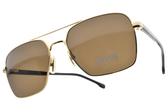 HUGO BOSS 太陽眼鏡 HB1045S 00070 (金-棕鏡片) 男士時尚簡約款 # 金橘眼鏡