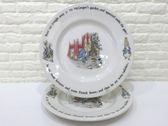 快速出貨   Wedgwood 彼得兔造型圖案陶瓷盤子 兩件組【Tifana】