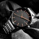 MVMT / D-MM01-BBRG / 日期視窗 礦石強化玻璃 不鏽鋼手錶 鍍黑 45mm