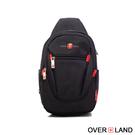 OVERLAND - 美式十字軍 - 經典防潑水立體版型胸肩包 - 3085