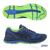 ASICS亞瑟士 男慢跑鞋 (藍綠) GEL-NIMBUS19 輕量.高緩衝慢跑鞋款 T7C3N-4943【 胖媛的店 】