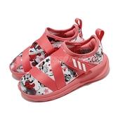 adidas 慢跑鞋 FortaRun X Minnie I 黑 紅 童鞋 小童鞋 米老鼠 米妮 運動鞋 【ACS】 FV4260