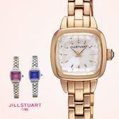 JILL STUART 名媛珍珠母貝錶盤方形腕錶手錶 精緻切割面 日本限量 柒彩年代【NE1018】原廠公司貨