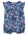 【美國Carter's】純棉連身衣- 繽紛花卉系列 #118G945