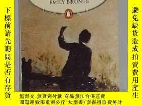 二手書博民逛書店英文原版罕見Wuthering Heights by Emily