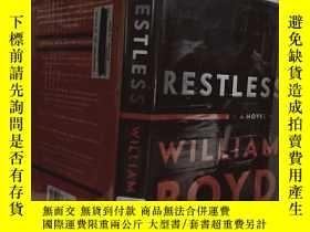 二手書博民逛書店實物拍照;Restless:罕見A Novel 永無寧日 by