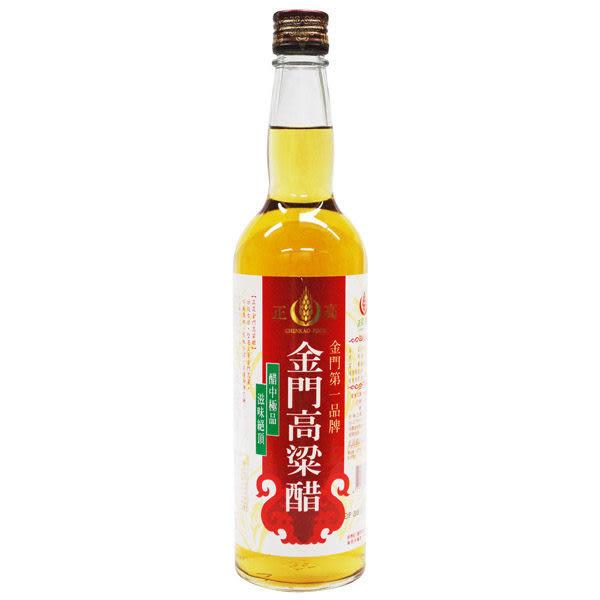 正高金門高梁醋600ml*12瓶~團購價