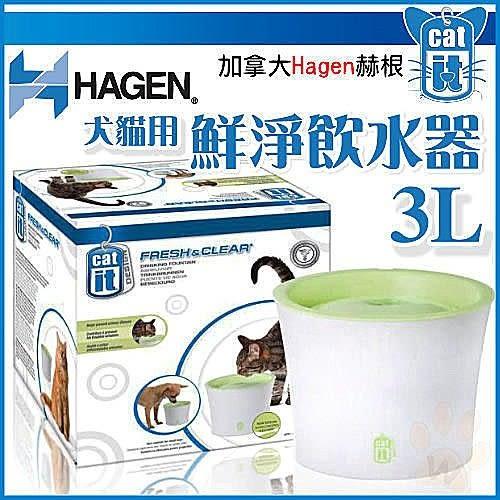 *King Wang*【1機1片】 Hagen赫根Cat it《犬/貓用 電動鮮淨飲水機 3L循環設計
