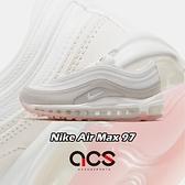 Nike 休閒鞋 Wmns Air Max 97 白 米白 淡粉 裸色系 女鞋 復古慢跑鞋 運動鞋【ACS】 CT1904-100