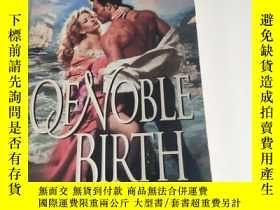 二手書博民逛書店Of罕見Noble Birth 貴族出身 英文原版Y268973 Novak, Brenda HarperC