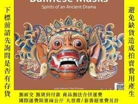 二手書博民逛書店【罕見】Balinese Masks: Spirits of a
