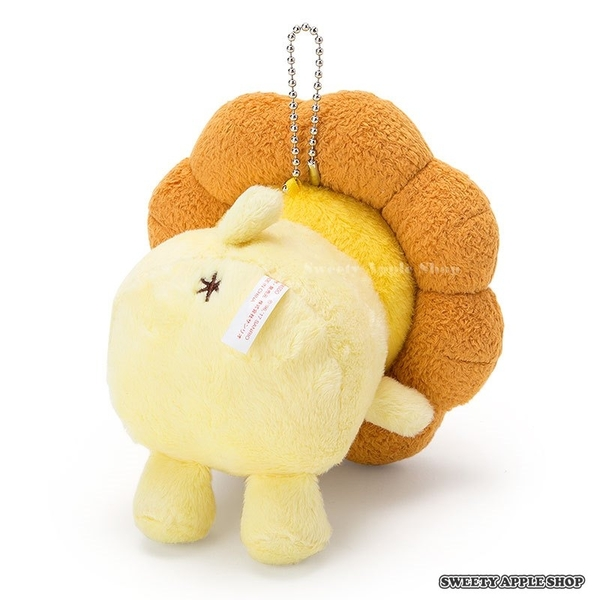 日本限定 日本聯名 mister Donut 波堤獅 x 布丁狗 珠鏈吊飾玩偶