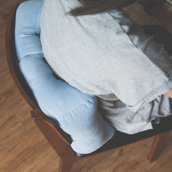 電腦椅 腰靠墊 抱枕 腰枕 【I0249-A】第二代加寬服貼加高腰枕2入(四色) MIT台灣製 收納專科