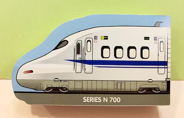 【震撼精品百貨】Shin Kan Sen 新幹線~三麗鷗新幹線造型便條本/筆記本-藍#35872