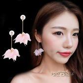 耳飾-耳環耳釘女流蘇花朵氣質長款簡約耳線耳墜個性淑女飾品