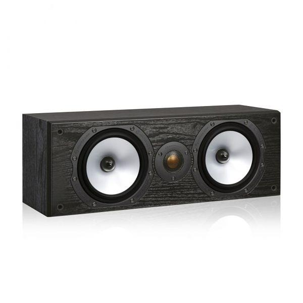 英國 Monitor audio Reference MR CENTRE 中置喇叭 (橡木黑)