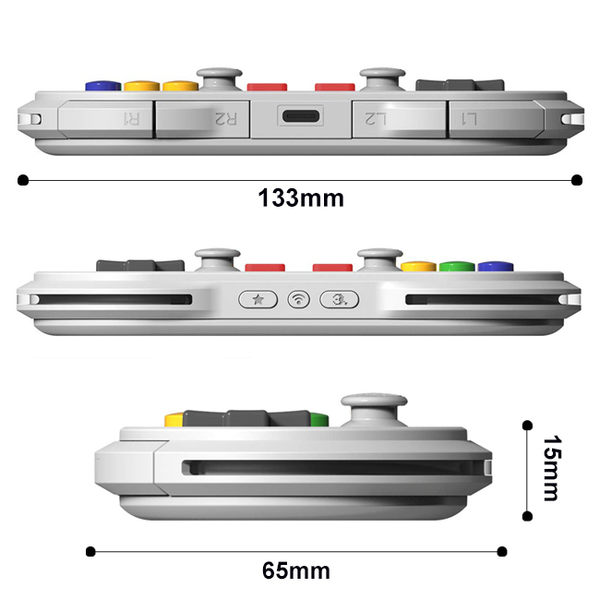 台灣公司貨 八位堂 N30 Pro 2 無線藍芽震動手把 8Bitdo 支援手機 SWITCH 電腦