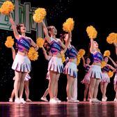 兒童成人啦啦操演出服團體年會表演服學生啦啦隊女服裝韓版「伊衫風尚」