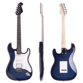 ★JYC Music★嚴選JYC ST2單單雙電吉他(鏡面藍)內建調音器款~限量款