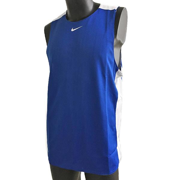 Nike AS M League REV Tank [614450-420] 男 籃球 訓練 背心 透氣 雙面穿 寶藍
