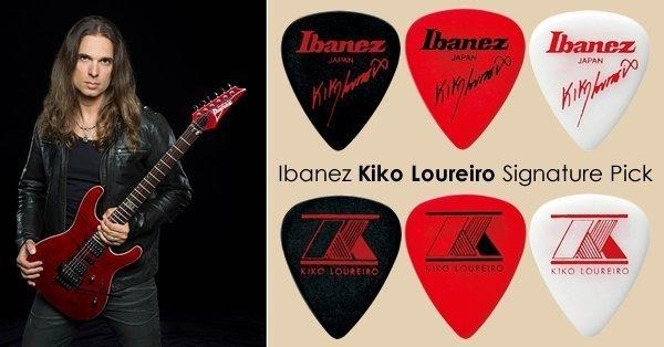 ☆ 唐尼樂器︵☆ Ibanez Kiko Loureiro 御用簽名款電吉他/電貝斯 Bass 用 PICK 彈片