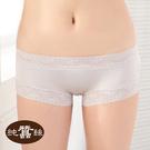【岱妮蠶絲】CA0019E-L純蠶絲42針70G低腰平口內褲 (銀灰)