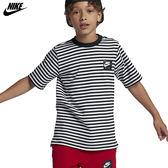 Nike Air 大童裝 灰 藍 短袖上衣 運動上衣 短袖 短T 乾爽 舒適 上衣 棉T 休閒 939631010 939631451