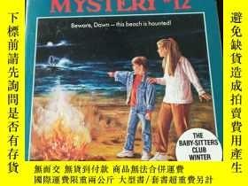 二手書博民逛書店Dawn罕見and the Surfer Ghost (Baby-sitters Club Mystery)(英文