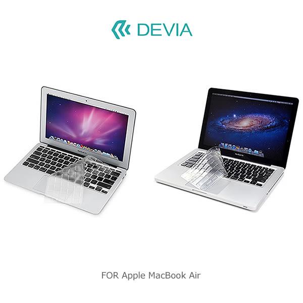 ☆愛思摩比☆DEVIA Apple MacBook Air 11 / 12 吋 鍵盤保護膜 鍵盤膜 纖薄設計 TPU