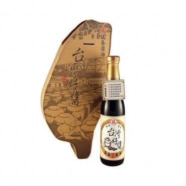 台灣好醬黑豆醬油 台灣圖形禮盒