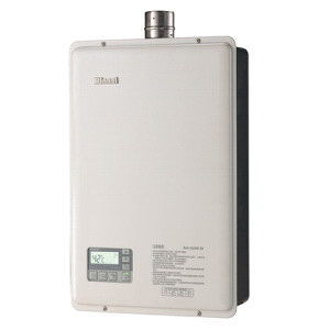 強制排氣型熱水器_林內_RUA-1623WF-DX