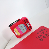 Airpods 1/2代 專用 台灣發貨 [ 彩色電視機 ] 藍芽耳機保護套 蘋果無線耳機保護