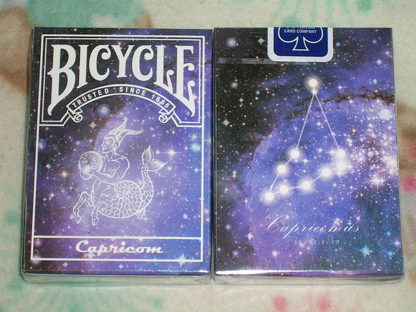 【USPCC撲克】Bicycle capricorn deck