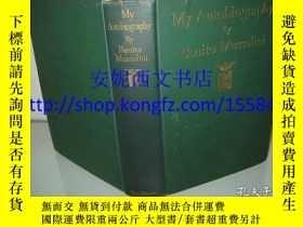 二手書博民逛書店1928年英文《墨索裏尼:我的自傳》----罕見英文全譯本,意大利獨裁者,8副照片Y