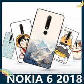 NOKIA 6.1 2018版 彩繪Q萌保護套 軟殼 卡通塗鴉 超薄防指紋 全包款 矽膠套 手機套 手機殼 諾基亞
