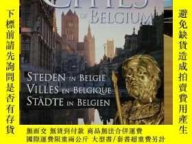 二手書博民逛書店A罕見PORTRAIT OF THE CITIES OF BELGIUM(外文原版)Y7353 VINCEN
