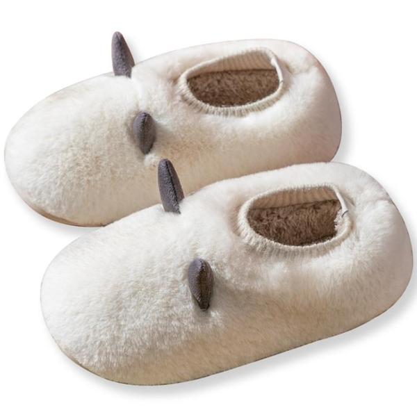 家用室內棉拖鞋女冬季2020女士可愛厚底包頭毛毛拖鞋女外穿秋冬天 後街五號