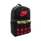 Nike 後背包 Heritage 2.0 Backpack 黑 紅 黃 男女款 包包 格紋【ACS】 BA5880-010