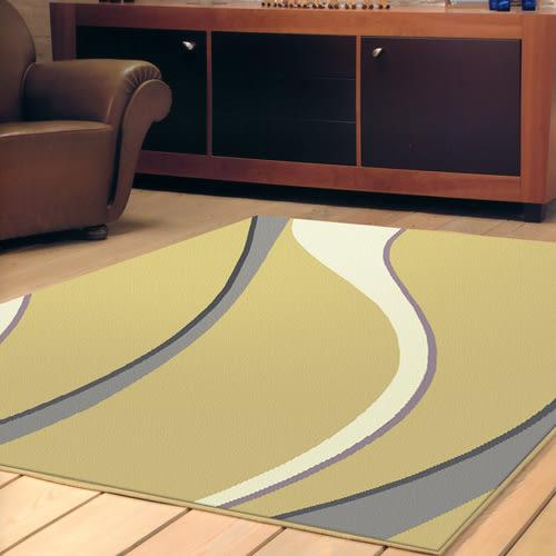 范登伯格 艾斯 簡約風進口地毯-曲線200x290cm