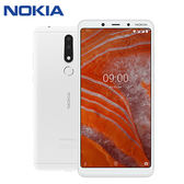 NOKIA 3.1 PLUS 6吋八核雙鏡頭智慧型手機(3G/32)-白色【愛買】