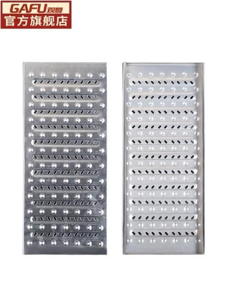 304不銹鋼廚房下水道地溝格柵蓋排水溝蓋板雨水篦子防滑井蓋品質佳-- 易家樂